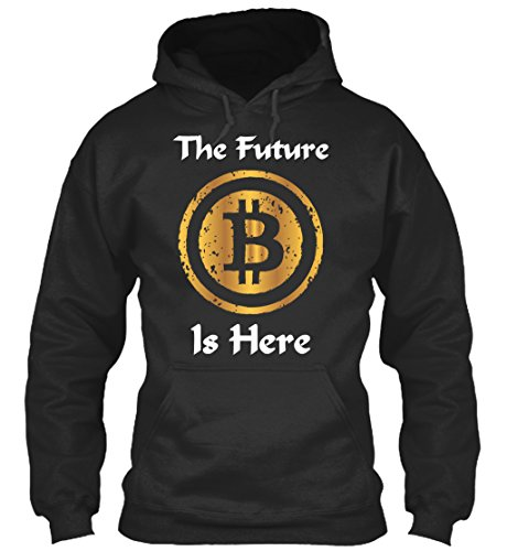 Sudadera con Capucha Teespring para Hombre - XL - Bitcoin cryptocurrency Money T shirt