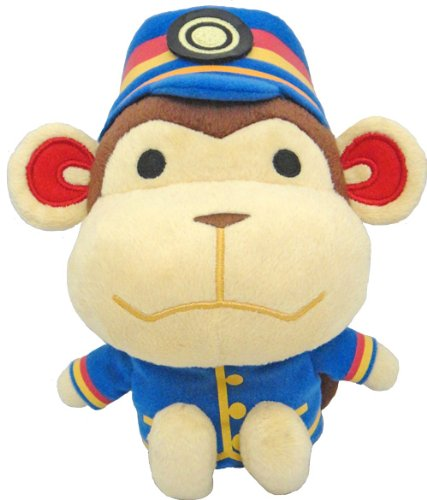 Nintendo Animal Crossing - Porter Plush - Monkey - 19cm 7.5""