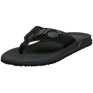 Reef Phantoms, Tongs homme - Noir (Black), 39 EU (7 US)