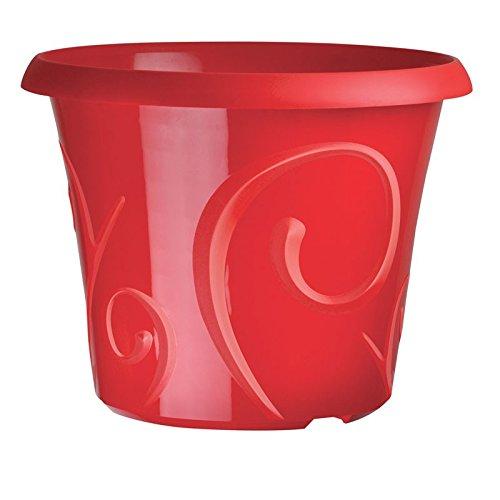 Pot Déco Volute Rouge Grenadine 2.2 Litres