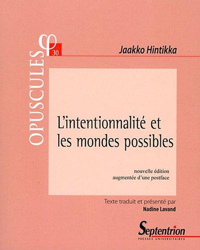 L'intentionnalité et les mondes possibles par Jaakko Hintikka
