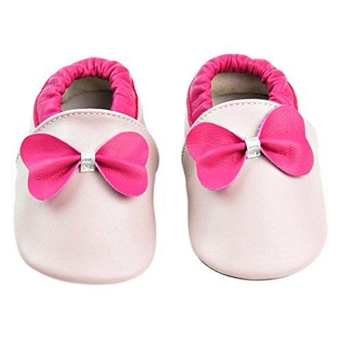 Weicher Leder Lauflernschuhe Krabbelschuhe Babyschuhe für Baby Jungen Mädchen mit vielen Modelle Style 9