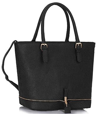 Womens Designer Handbags Large Ladies Shopper Bag Faux Leather Shoulder Tote Bag