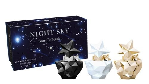 Jean Pierre Sand Coffret de Parfum pour Femme Night Sky Star Collection 100 ml 3 Pièces