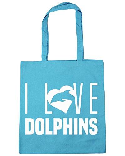 hippowarehouse-i-love-dolphins-tote-shopping-gym-beach-bag-42cm-x38cm-10-litres