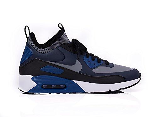 NIKE AIR MAX 90 ULTRA MID WIN 924458-401 Herren Schuhe Winter Blau