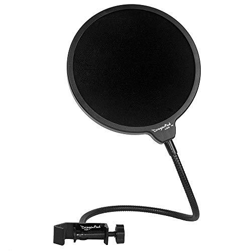 Generic Studio Microphone Mic Wind Screen Pop Filter/ Swivel Mount, 360° Flexible Gooseneck Holder