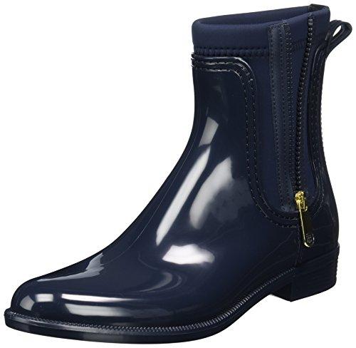 Tommy Hilfiger Damen O1285dette 12r Chelsea Boots Blau (Midnight)
