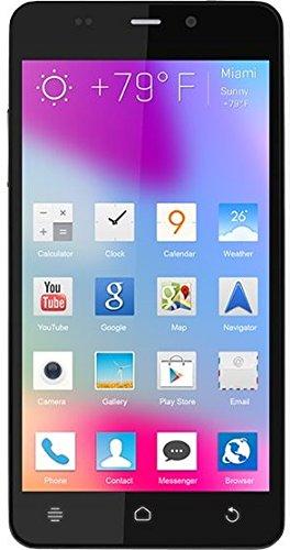 BLU Life Pure Mini Smartphone (11,43cm (4,5 Zoll) IPS, 16 GB Speicher, 8 MP Kamera, Android, Unlocked) schwarz [Import]