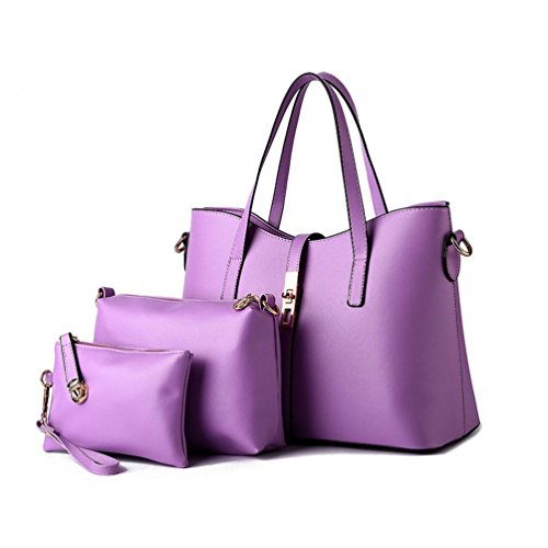 XibeiTrade - Sacchetto Ragazza donna Purple