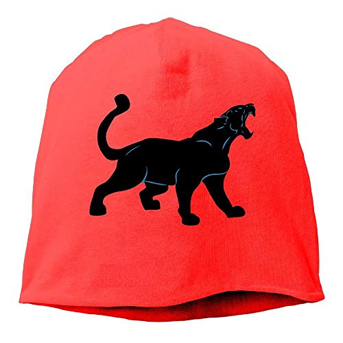Men and Women Black Panther Leopard Warm Stretchy Daily Beanie Hat Skull Cap Outdoor Winter