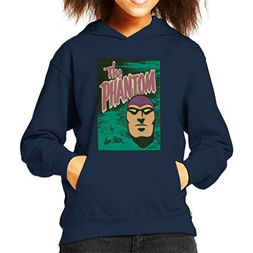 Comics Kingdom The Phantom Face Logo Kid's Hooded Sweatshirt Face Kids Sweatshirt