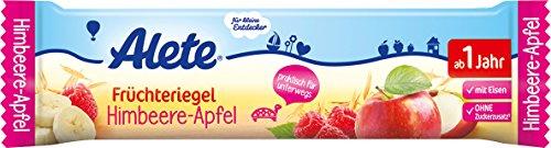 Alete - Früchteriegel Himbeer-Apfel - 25g