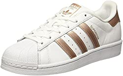 adidas Women's's Superstar W Low-Top Sneakers White Supcol/ftwwht, 7 UK