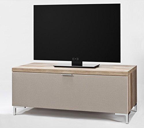 CS Schmalmöbel 45.150.222/010 TV-Board Cleo Typ 10, 109 x 50 x 47 cm, wildeiche mit Stoffklappe - 2