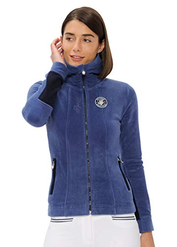 SPOOKS Damen Filsjacke Fleecejacke, leichte Damenjacke, New Lexi Fleece Blue M