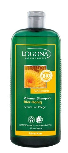 LOGONA Volumen-Shampoo Bier-Honig 500 ml
