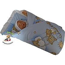 BlueberryShop Clásica Sábana con una Almohada Manta Edredón Saco de Dormir Regalo del Bebé Algodón 0