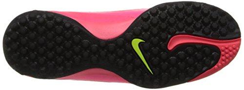 JR HYPERVENOM PHELON TF ROS - Chaussures Football Garçon Nike total crimson-volt-hyper punch-black