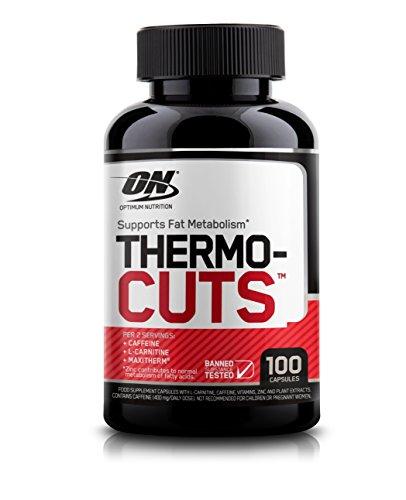 Optimum Nutrition Thermocuts Fat Metaboliser, 100 Capsules