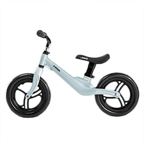 TCBIKE Kleinkind Laufrad lauflernrad, Magnesium-Legierung säugling Zu fuß Fahrrad Kein Pedal Kinderlaufrad Im Alter von 1,2,3 erstes Fahrrad Höhe verstellbar Reiten Spielzeug-B