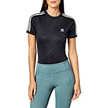 adidas Women's Short Sleeve Bodysuit, Black (Black)12 UK (38 EU)