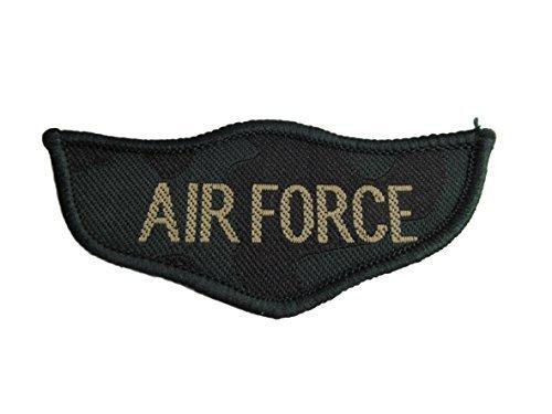 USA Luftwaffe Militär Armee Ranking zum Aufbügeln Aufnäher gestickte Abzeichen Applikation Motiv Patch von fat-catz-copy-catz (Usa Armee Kleidung)