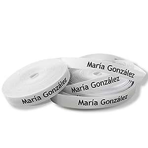100 tiquettes tissu pour identifier les v tements - Bureau en gros etiquettes personnalisees ...