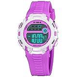 Herren Uhren,Moeavan Kinder Digital Sport Uhr Jungen Mädchen Outdoor Wasserdichte LED Uhren Kinder Analog Quarz-Armbanduhr mit Alarm für Kinder Jungen Mädchen Geschenk Kinder Uhr (H)