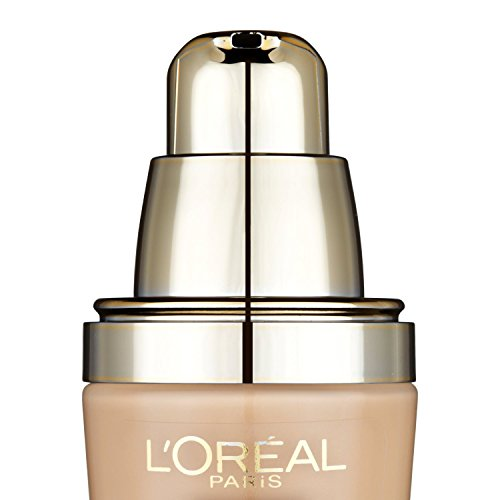 L'Oreal Paris Nutri Lift Gold Anti-Ageing Serum Foundation - 25 ml, Creamy Beige (Number 150)