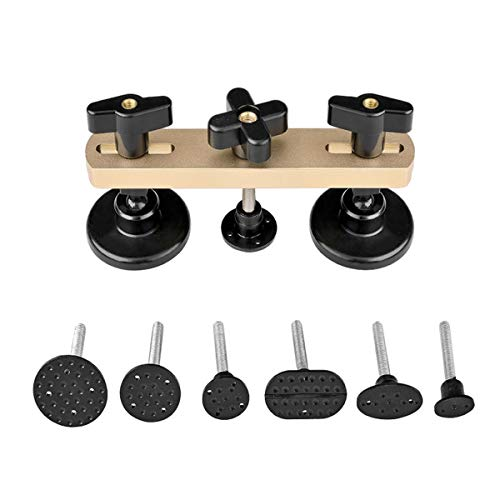 Weylon 7pcs PDR Tools Kit Neueste Design-Pulling-Brücke Dent Remover Hand-Werkzeug-Set für Ausbeul Repair Tool Kit -