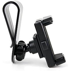 DURAGADGET Supporto Visiera Parasole Auto Per Cellulari Asus Zenfone 4 ZE554KL | Zenfone 4 Max Plus ZC554KL | Zenfone 4 Max ZC520KL | Zenfone 4 Selfie ZD553KL | Zenfone 4 Selfie Pro ZD552KL