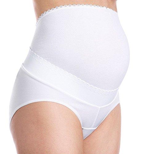 Guaina panciera gios preparto massimo comfort per la tua maternita' art.292 premamma (bianco, 4)