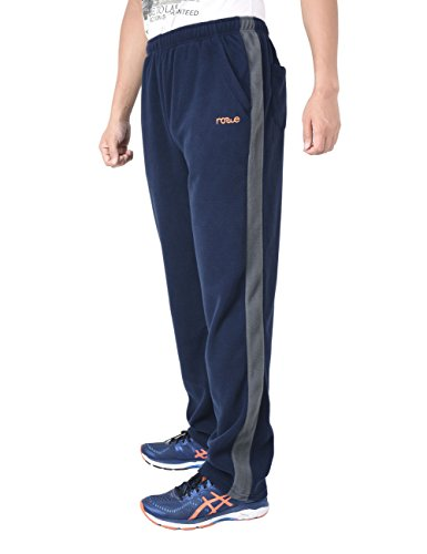 Nonwe Uomo All'aperto Casuale Fleece Escursioninsmo Pantaloni Blu2