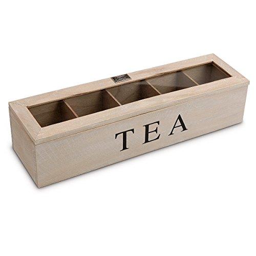 Desconocido Boîte à thé en Bois Vintage