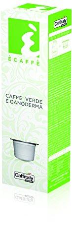 Ècaffè Kaffeekapseln CAFFÈ VERDE E GANODERMA - Grüner Kaffee