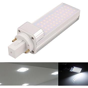 Mulang LED PL G24 Lámpara fluorescente compacta giratoria de ...