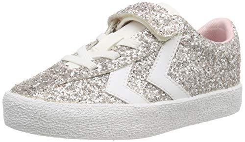 hummel Diamant Glitter Jr, Scarpe da Ginnastica Basse Bambina, Rosa (Pale Liliac 3333), 29 EU