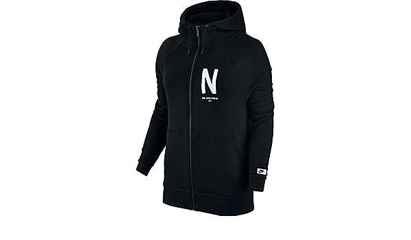 W Sport Nsw Felpa Modern Donna it Nike Gx Per E Hoodie Fz Amazon Zq6Pnda