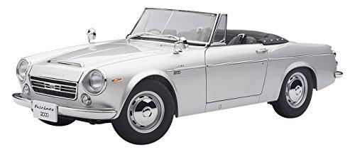 Datsun Fairlady 2000 (SR311), silber, Modellauto, Fertigmodell, Auto Art 1:18