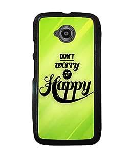 Fuson 2D Printed Quotes Designer back case cover for Motorola Moto E2 - D4344