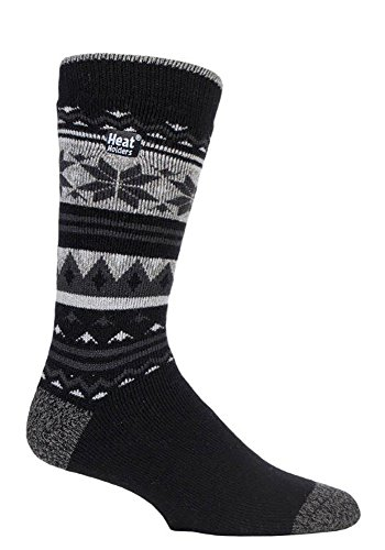 Heat Holders Lite - Herren Warme Dünn Business Thermosocken in 4 Farben 39-45 EUR (Crowcroft) (Element-herren-socken)