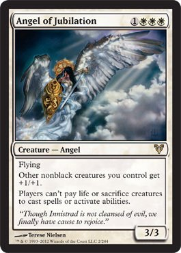 Magic: the Gathering - Angel of Jubilation (2) - Avacyn Restored by Magic:  the Gathering