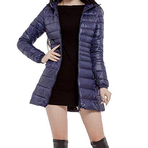 Sunnyuk Daunenjacke Damen Ultraleicht Winterjacke mit Kapuze Street Outdoor Steppjacke leicht mit Kapuze einfarbig übergang Mäntel -