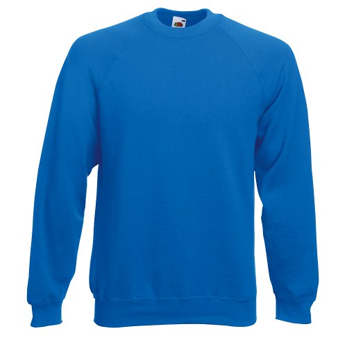 Fruit of the Loom Herren, Sweatshirt, Raglan Sweatshirt SS024M Royal