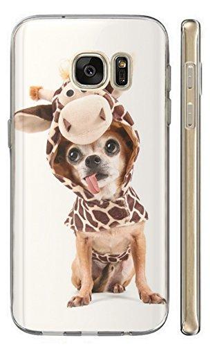 Mit Ihrem Kostüm Hunde - KunaMobile Hülle für Samsung Galaxy S8 TPU Handyhülle Samsung S8 Silikon Hülle Softcase Cover Schutzhülle Motiv (535 Hund mit Kostüm Chihuahua Dog)