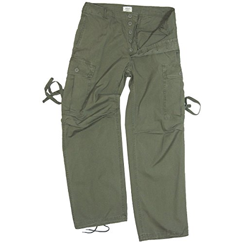 us-army-vietnam-era-tropical-jungle-trousers-american-military-fatigue-combat-pants-large-34-38-inch