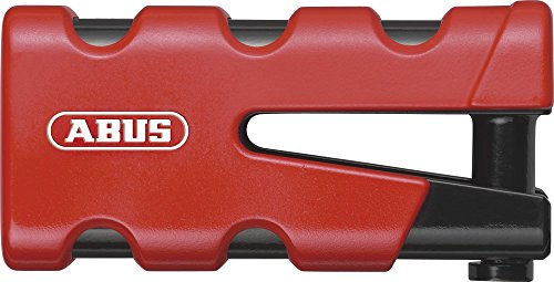 Abus 77 Sledg Grip - Candado para disco de freno, color rojo