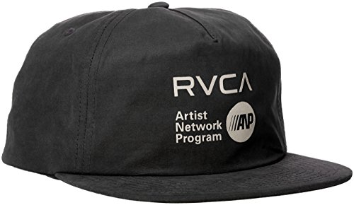 rvca-mens-anp-five-snapback-hat-black-one-size