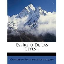 Espíritu De Las Leyes...